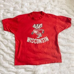 LF Furst of a Kind Vintage Wisconsin Badgers Tee